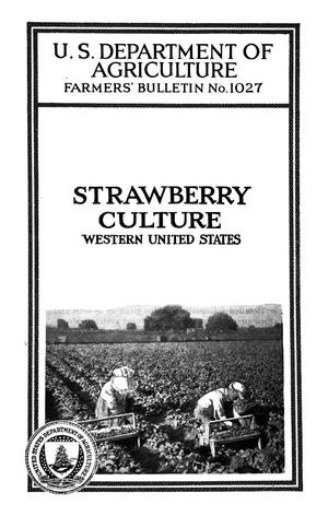 Primary view of object titled 'Strawberry Culture: Western United States'.