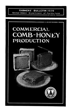Primary view of object titled 'Commercial Comb-Honey Production'.