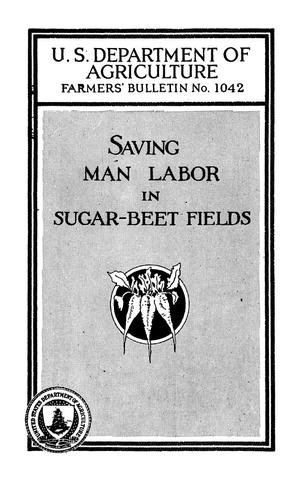 Primary view of Saving Man Labor in Sugar-Beet Fields
