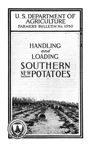 Primary view of object titled 'Handling and Loading Southern New Potatoes'.