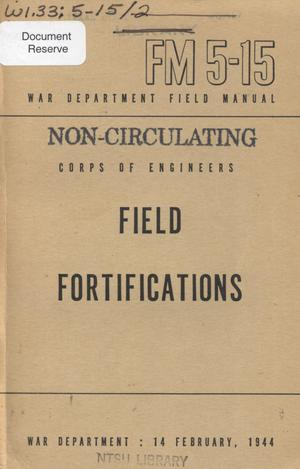 Primary view of object titled 'Field fortifications'.
