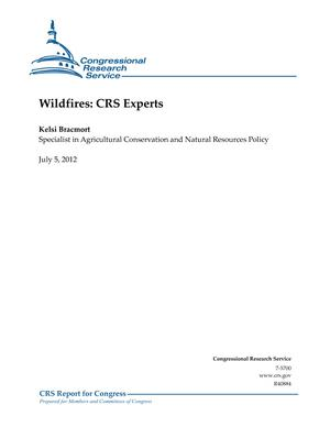 Wildfires: CRS Experts