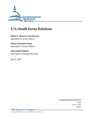 U.S.-South Korea Relations