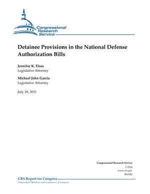 Detainee Provisions in the National Defense Authorization Bills