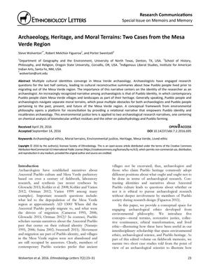 Archaeology, Heritage, and Moral Terrains: Two Cases from the Mesa Verde Region