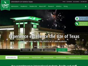 Primary view of object titled 'University of North Texas Fall 2016'.