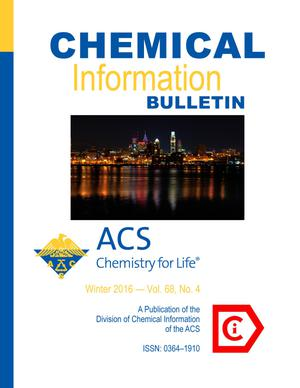 Primary view of object titled 'Chemical Information Bulletin, Volume 68, Number 4, Winter 2016'.