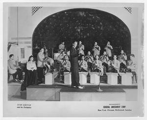 Primary view of object titled '[Kenton Orchestra at Meadowbrook Country Club]'.