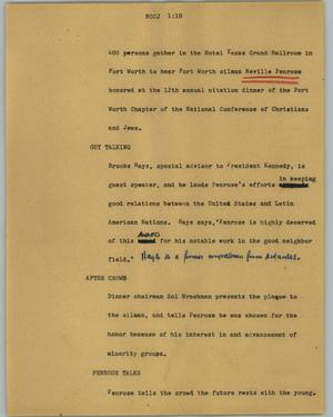 Primary view of object titled '[News Script: NCCJ]'.