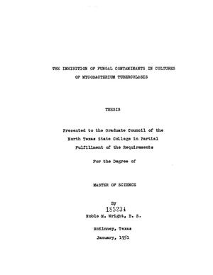 thesis on tuberculosis