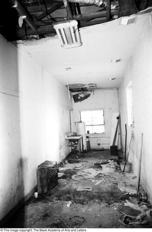 Primary view of object titled '[Corridor in Lamar St. Location]'.