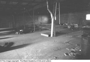 Primary view of object titled '[Orchestra Pit Area Inside of Theater]'.