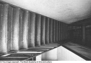Primary view of object titled '[Stairwell in Location on Austin St.]'.