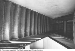 Primary view of object titled '[Stairwell Inside Location on Austin St.]'.
