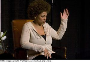 Primary view of object titled '[Kim Fields Performing in Costume]'.