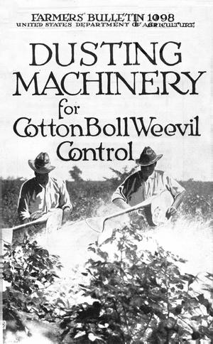 Primary view of object titled 'Dusting Machinery for Cotton Boll Weevil Control'.