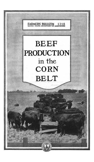 Primary view of object titled 'Beef Production in the Corn Belt'.
