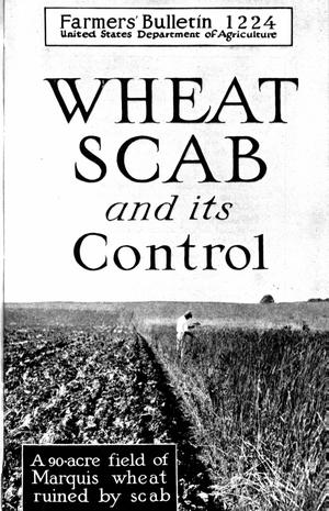 Primary view of object titled 'Wheat Scab and Its Control'.