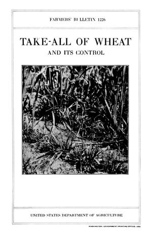 Primary view of object titled 'Take-All of Wheat and Its Control'.