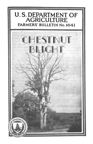 Primary view of object titled 'Chestnut Blight'.
