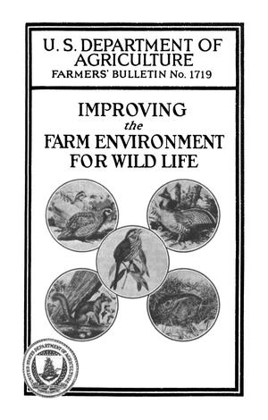 Primary view of object titled 'Improving the Farm Environment for Wild Life'.