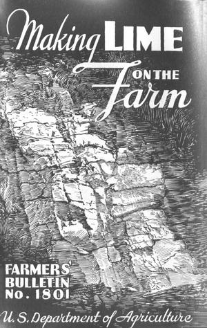 Primary view of object titled 'Making Lime on the Farm'.