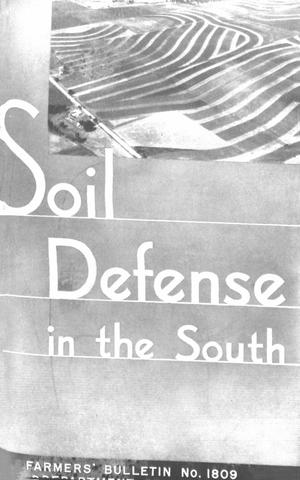 Primary view of object titled 'Soil Defense in the South'.