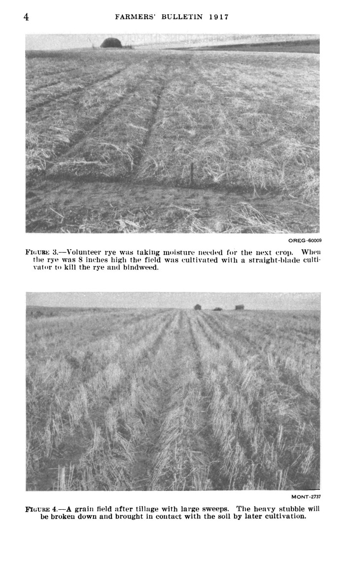 Stubble mulch farming for soil defense page 4 unt for Soil library