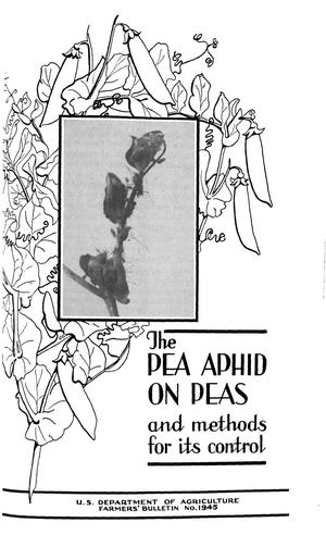 Primary view of object titled 'The Pea Aphid on Peas and Methods for Its Control'.