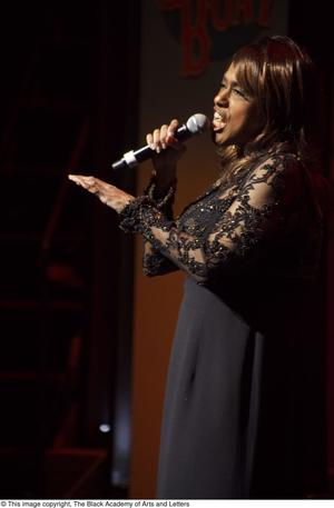 Primary view of object titled '[Jennifer Holliday Performing]'.