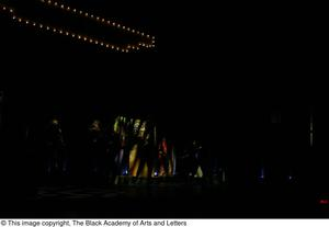 Primary view of object titled '[Performers on Stage as Lights Come Up]'.