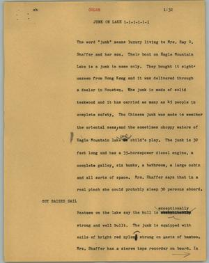 Primary view of object titled '[News Script: Color]'.