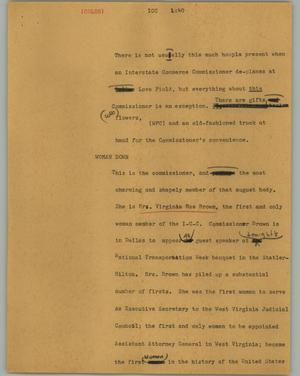 Primary view of object titled '[News Script: ICC]'.
