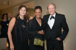 Primary view of object titled '[Dorothy Bland and guests at 2014 Salute to Faculty Excellence event]'.