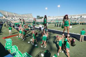 Primary view of object titled '[UNT Cheerleader's Basic Extension]'.