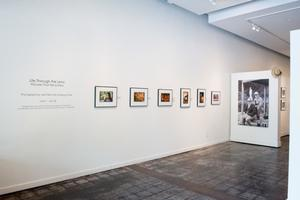 Primary view of object titled '[Exhibit Wall With Photographs]'.