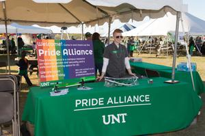 Primary view of object titled '[UNT Pride Alliance]'.