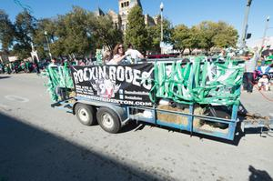 Primary view of object titled '[Rockin Rodeo Parade Float]'.