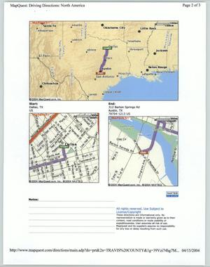 MapQuest directions] - Digital Liry on