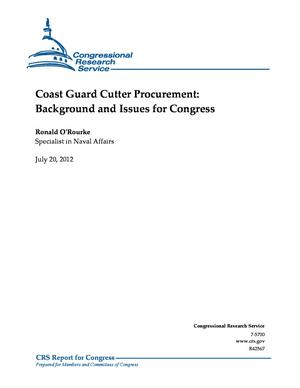 Coast Guard Cutter Procurement: Background and Issues for Congress