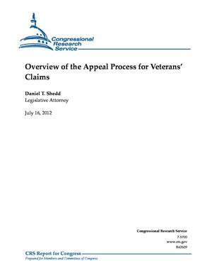 Overview of the Appeal Process for Veterans' Claims