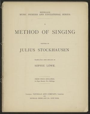 A Method of Singing