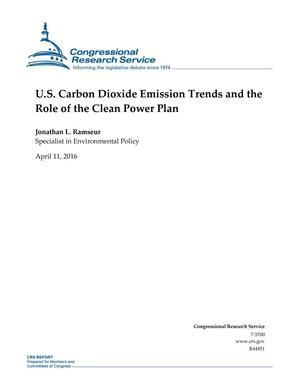 U.S. Carbon Dioxide Emission Trends and the Role of the Clean Power Plan