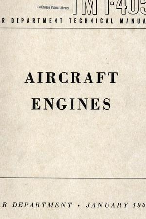 Primary view of object titled 'Aircraft engines.'.