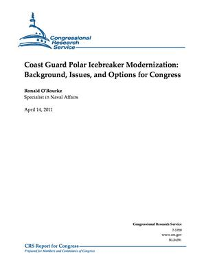 Coast Guard Polar Icebreaker Modernization: Background, Issues, and Options for Congress