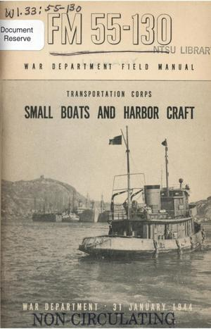 Small boats and harbor craft.