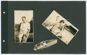 Primary view of object titled '[Page 6 of Byrd Williams III scrapbook]'.