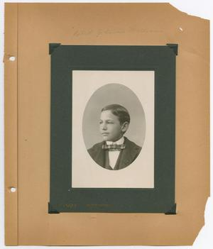 Primary view of [Page 8 of Byrd Williams Sr. album, 1886-1902]