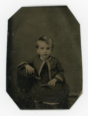Primary view of object titled '[Unidentified little boy]'.