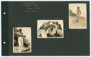 Primary view of object titled '[Page 2 of Byrd Williams III scrapbook]'.